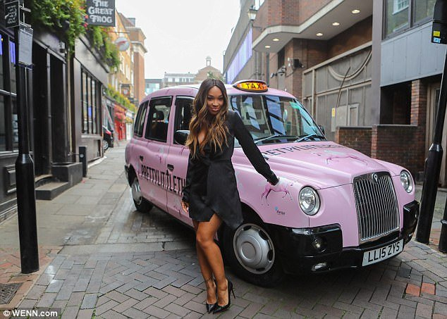 Malika Haqq Pretty Little Thing Taxi Cab London