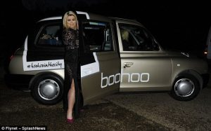 Boohoo Taxi Advertising Campaign by Sherbet London