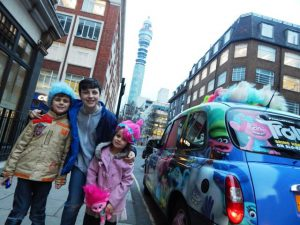 Trolls DVD Release | 20th Century Fox | Sherbet Media Taxi Advertising Campaign