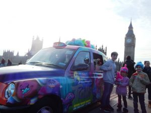 Trolls Dvd Release - 20th Century Fox - Taxi Campaign