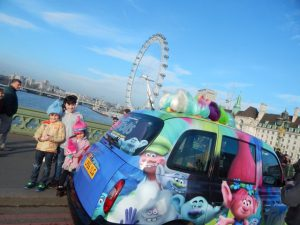 Sherbet London Taxi Advertising Campaign