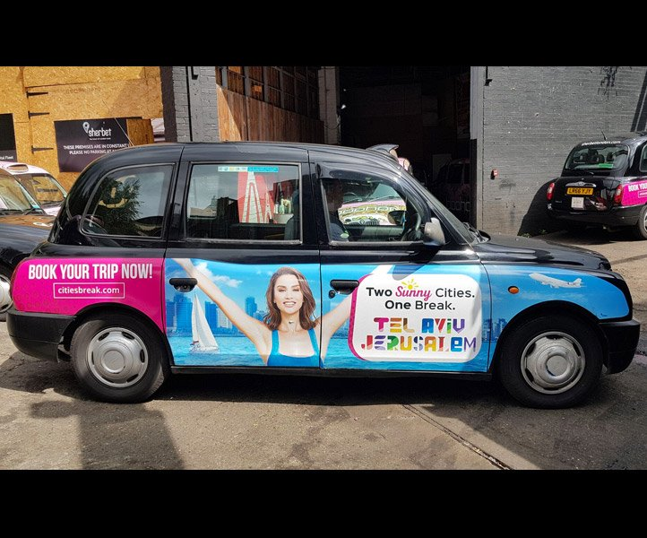 Sherbet London Taxi Drive