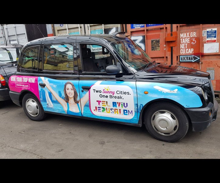 TX4 – Euro 4 – LD57 HYN Taxi Campaign by Sherbet London