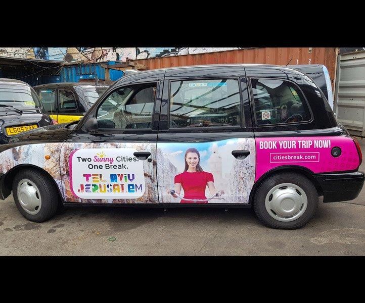 TX2 – LM05 YNE Sherbet London Taxi Campaign