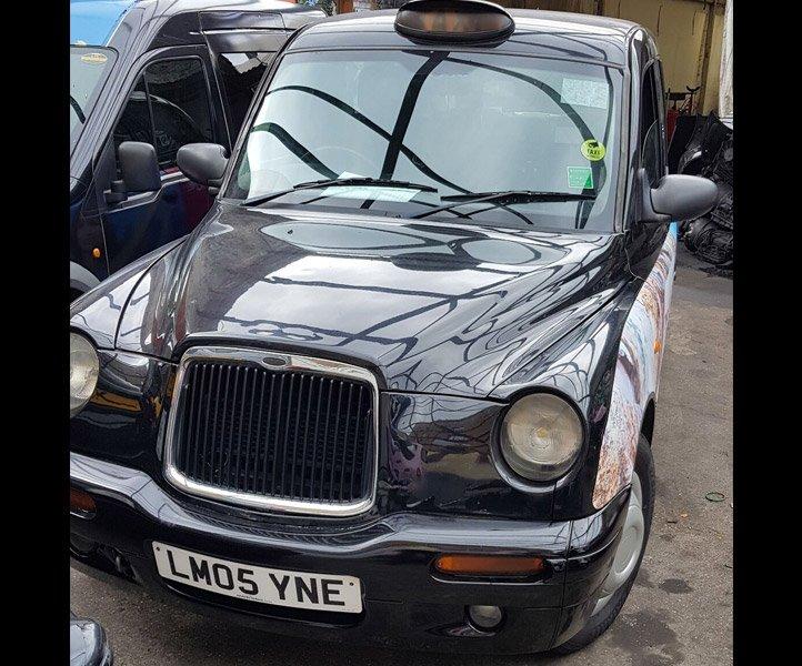 Sherbet London TX2 – LM05 YNE Taxi