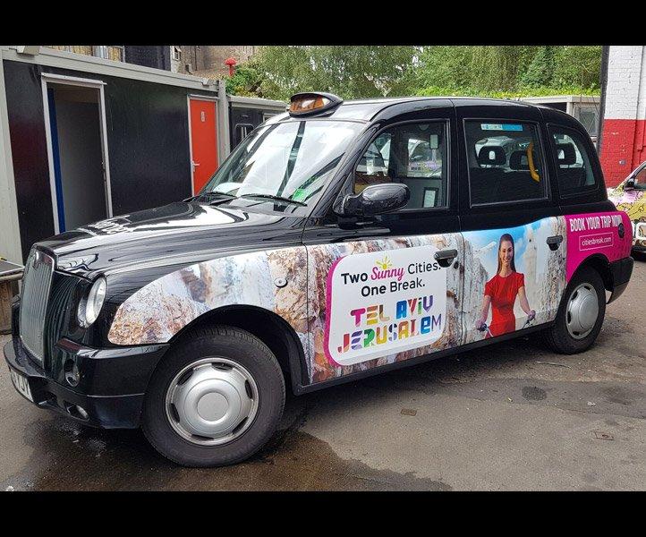 TX4 – Euro 6 – LR66 YJY Sherbet London Taxi