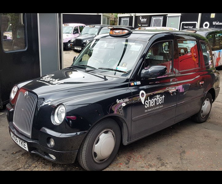 Sherbet London TX4 – Euro 6 – LR66 YKE Taxi