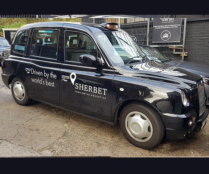 LP16XKC Sherbet London Taxi