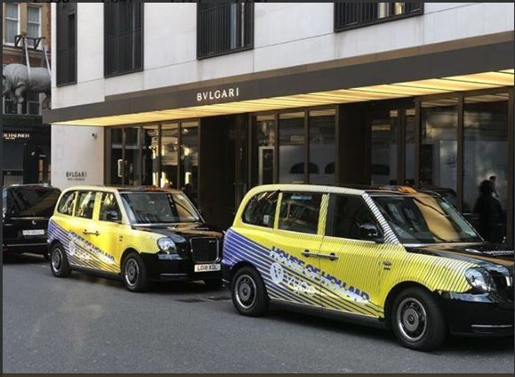 House of Holland Vype London Fashion Week 2018 Electric Taxi Sherbet Media PR