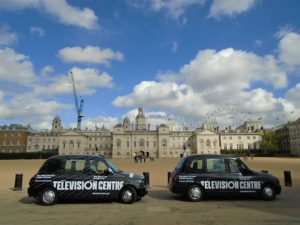 Television Centre White City London Sherbet Media Taxi Advertising OOH