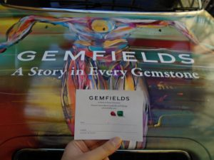 Gemfields Electric Taxi London Gemstones Sherbet Media OOH Ruby Faberge Egg