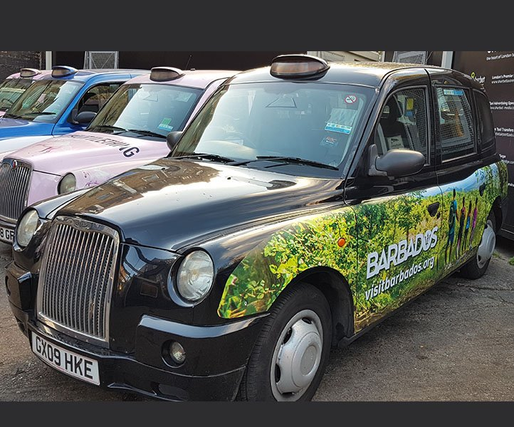 GX09HKE TX4 Sherbet London Taxi For rent