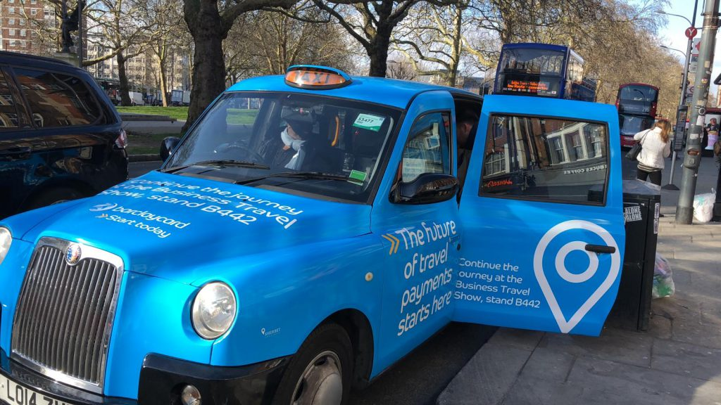 Business Travel Show 2019 - Barclaycard Taxis
