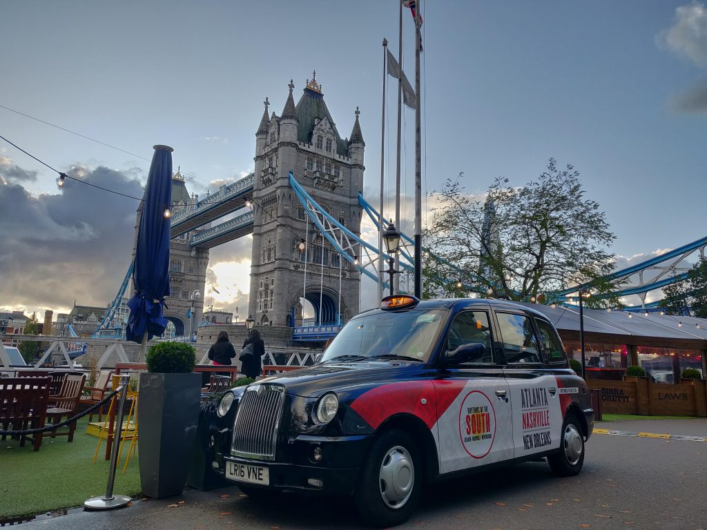 Sherbet Media Rhythms of the South Taxi Tower Bridge London