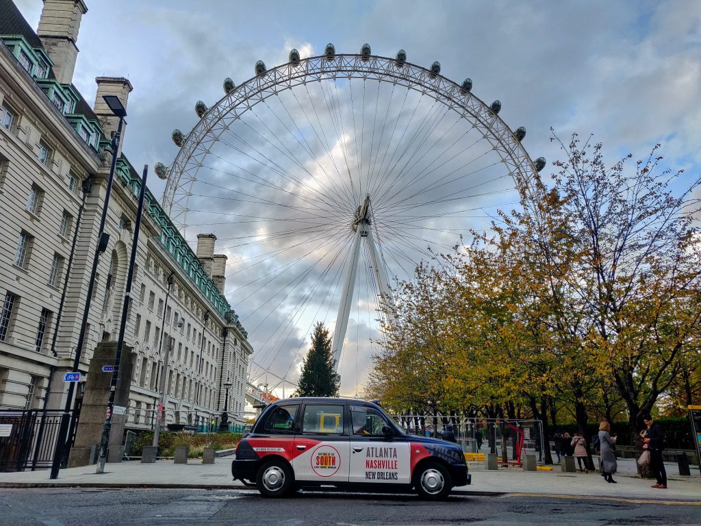 Sherbet Media Rhythms of the South Taxi London Eye