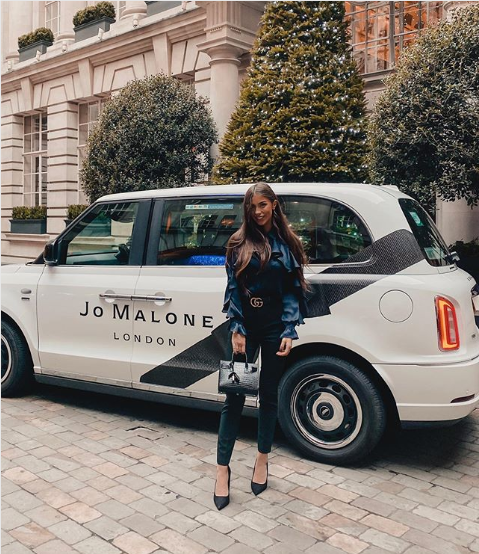 Sherbet Media Jo Malone London Electric Taxi Danielle Mansutti