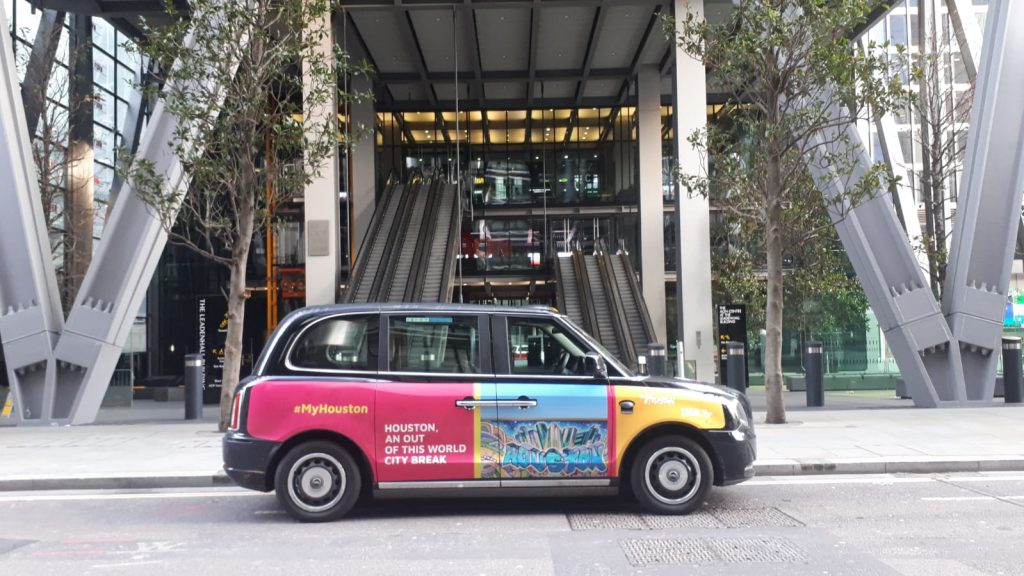 Sherbet Media My Houston Electric Taxi Superside London