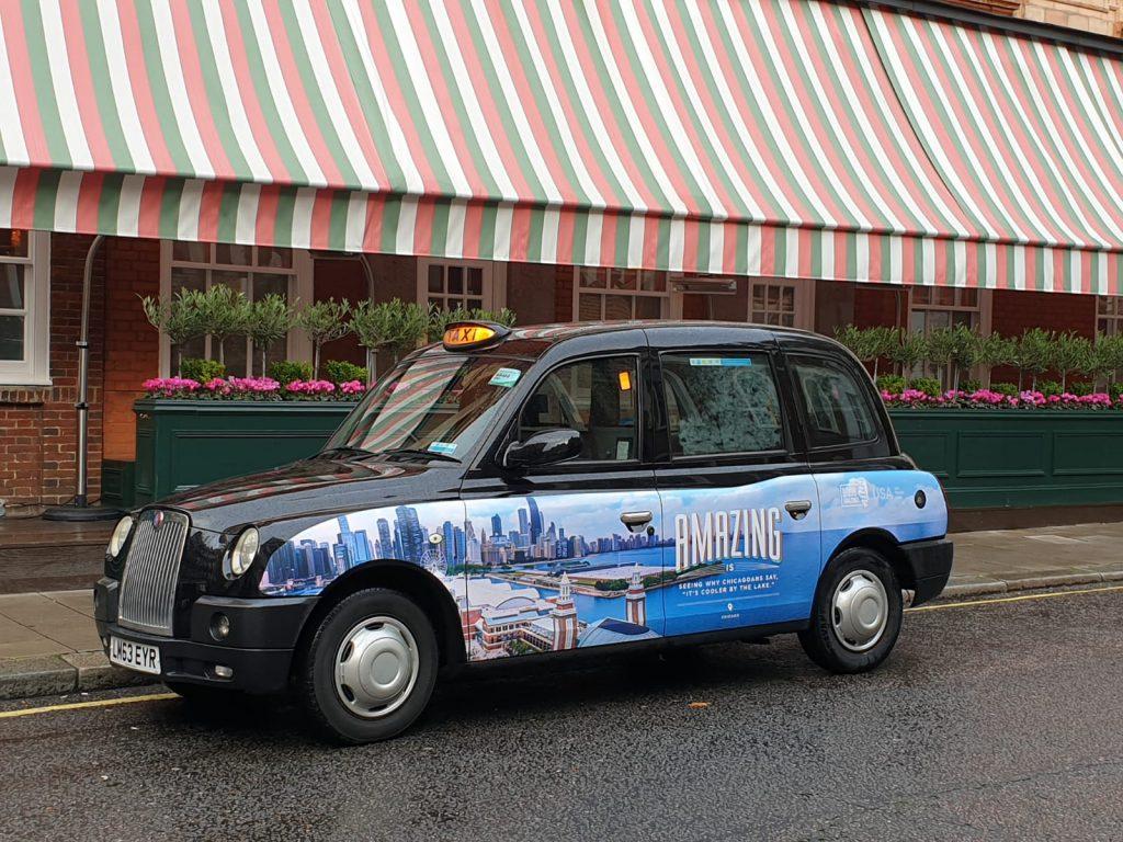 Sherbet Media Amazing Illinois Taxi Parade London