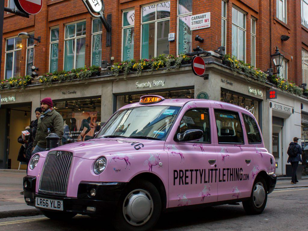 PLT Taxi London Sherbet Media