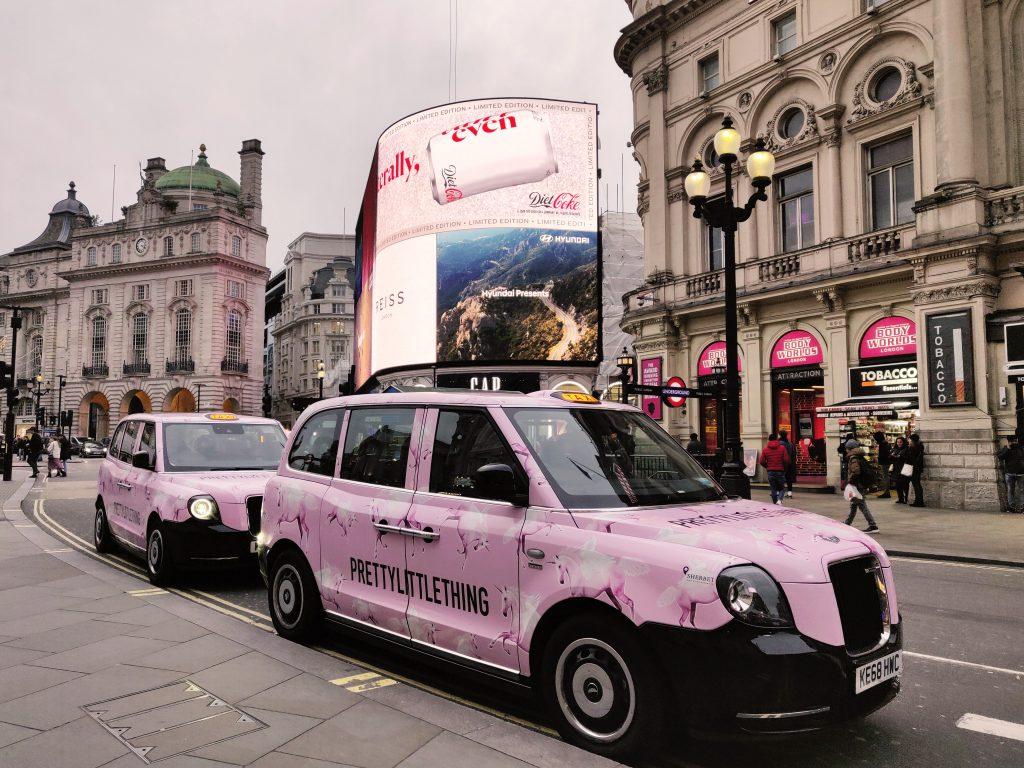 Sherbet Media London PLT Electric Taxis