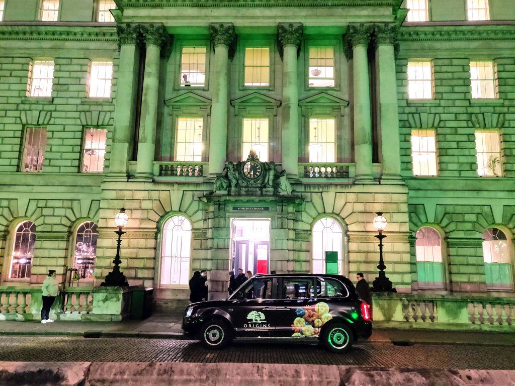 Sherbet Media Ride London Electric Taxi Origins Somerset House