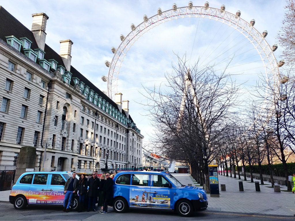 Electric Taxis London Eye Liveries