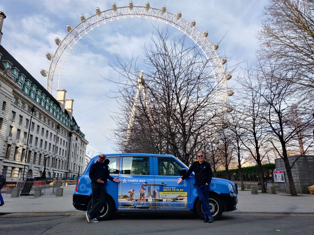 Electric Taxi Livery London Eye Tampa Bay