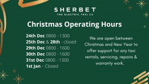 Sherbet Drivers Garage Services Christmas Operating Hours