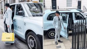 SkinCeuticals Selfridges Sherbet Media Electric Taxi Campaign London